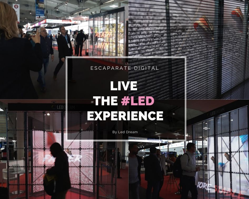 LED DREAM | Graphispag Experience 2019: soluciones con tecnología Led Display & Digital Lighting