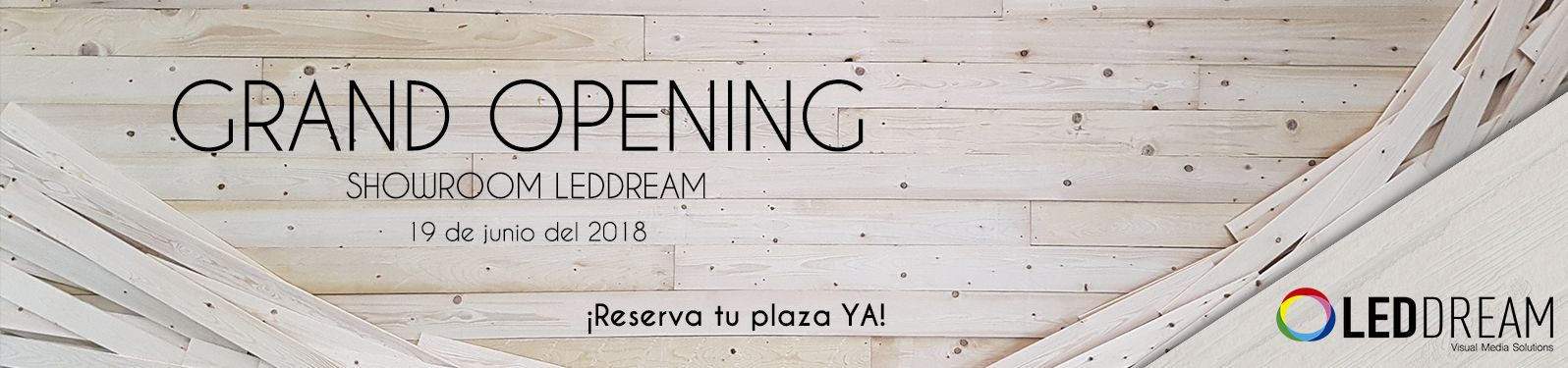 LEDDREAM | Led Dream inagura su nuevo showroom
