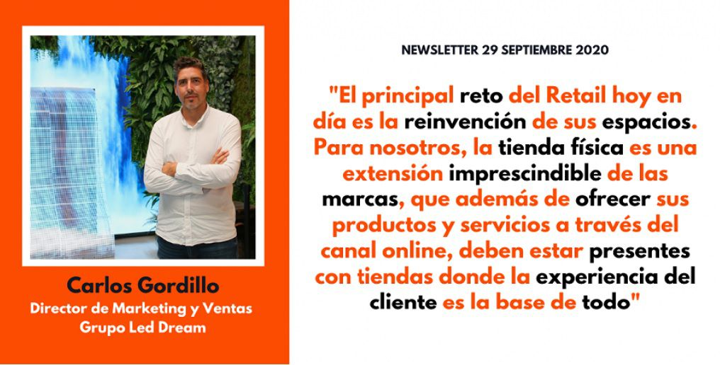 LED DREAM | Interview with Carlos Gordillo, Director of MKT & Sales at the Spanish Retail Association