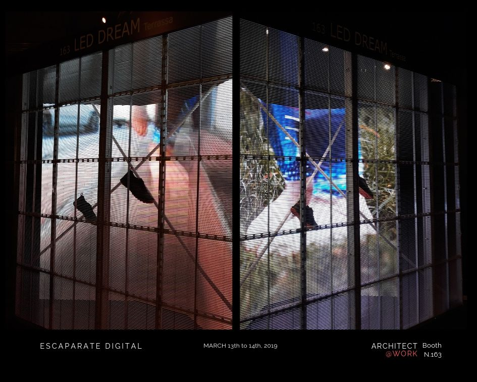 LED DREAM | Architect@Work Barcelona, inspirando espacios con Led Display & Digital Lighting