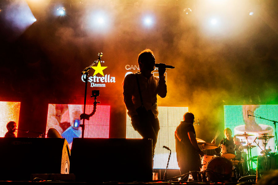 Pantallas LED Concierto Love of Lesbian