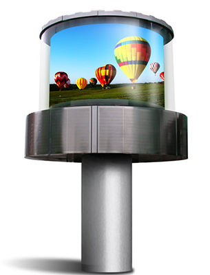 Outdoor LED Displays Dynascan 360